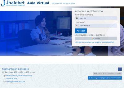Aula Virtual – IESTP Jhalebet